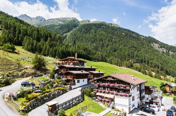 Sommer, Grünwald Grand Chalet, Sölden, Tirol, Österreich