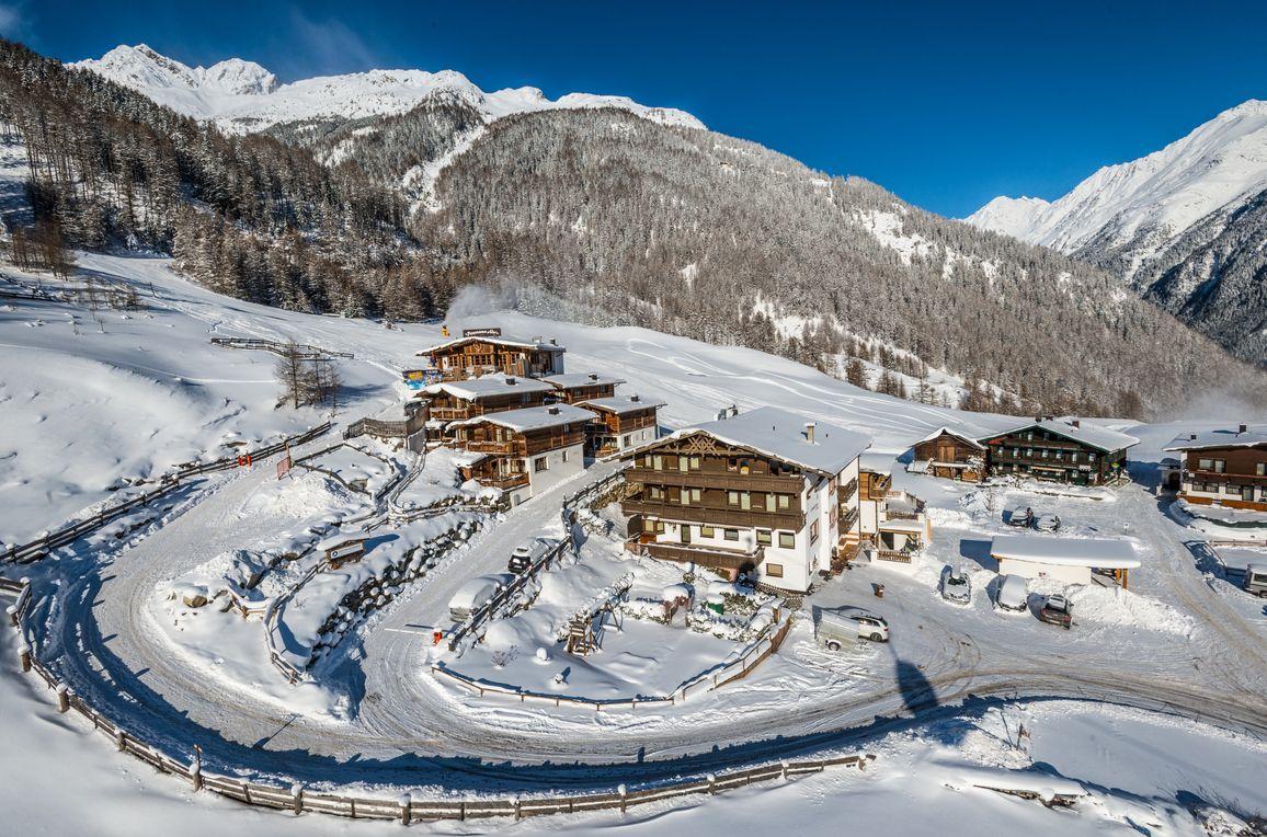 Grünwald Alpine Lodge II, Winter