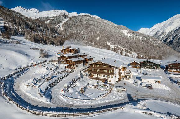 Winter, Grünwald Alpine Lodge III, Sölden, Tirol, Österreich