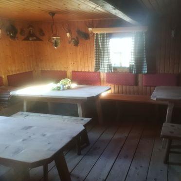 Hütte Unterwandalm, Wohn-Essbereich