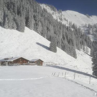 Hütte Unterwandalm, Winter