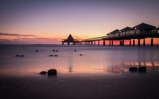 BIO HOTEL Gutshof Insel Usedom: Seebrücke