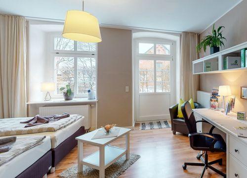 Comfort apartment in the mill house (1/3) - Schönhagener Mühle