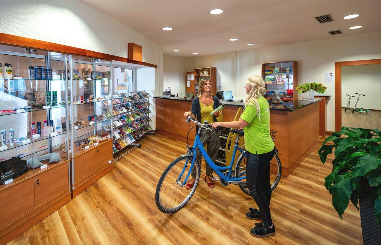Fahrradverleih des Familienhotel Oberhof