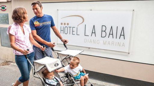 Genießen Sie Glücksmomente im Familotel La Baia in Ligurien.