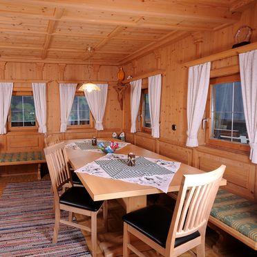 Wohnstube, Pfundhof in Hippach, Tirol, Tirol, Österreich