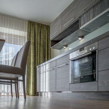 Küche mit Essbereich, Appartement Rettenbach 1 in Sölden, Tirol, Tirol, Österreich