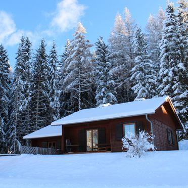 Winter, Langhans Hütte 1 in St. Gertraud - Lavanttal, Kärnten, Kärnten, Österreich