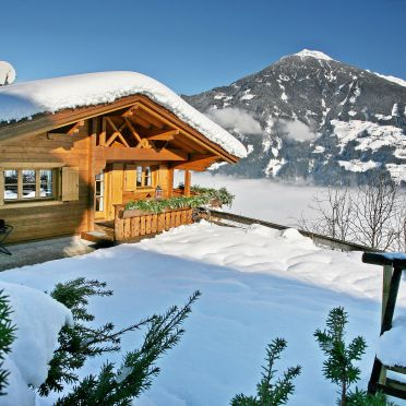 Winter, Berg Chalet ALPENROSE in Kaltenbach im Zillertal, Tirol, Tirol, Österreich