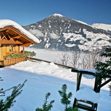 Winter, Berg Chalet Alpenrose, Kaltenbach im Zillertal, Tirol, Tirol, Österreich