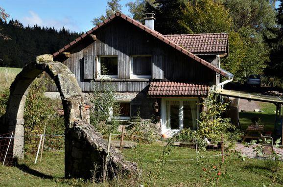 Sommer, Panorama Hütte  in La Rosiere - Vogesen, Vogesen, Elsass, Frankreich