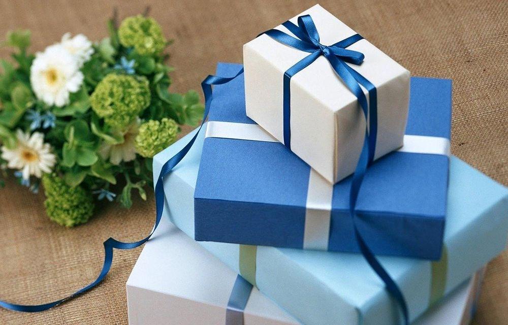 Begrüßungsgeschenk