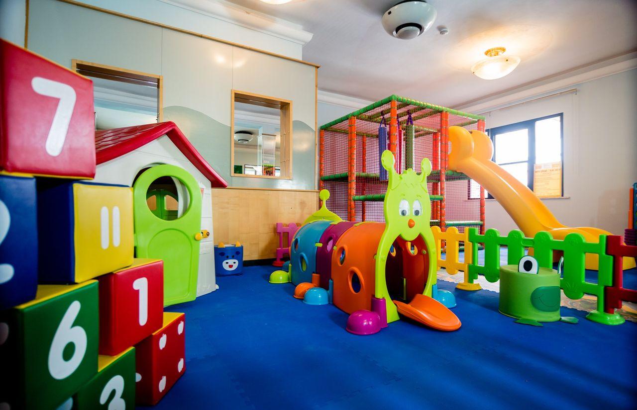Indoor-Spielbereich für Kinder