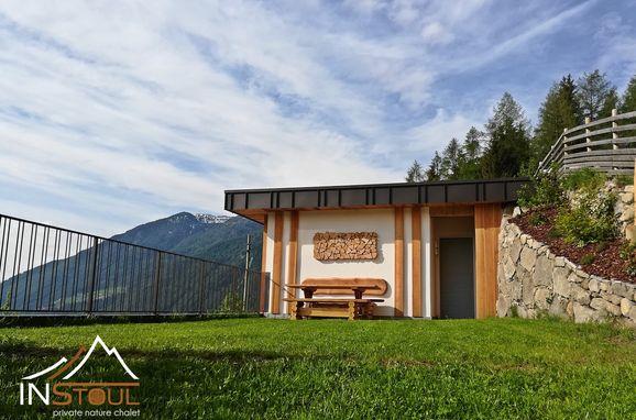 Sommer, Naturchalet INSToul in St. Johann im Ahrntal, Südtirol, Trentino-Südtirol, Italien