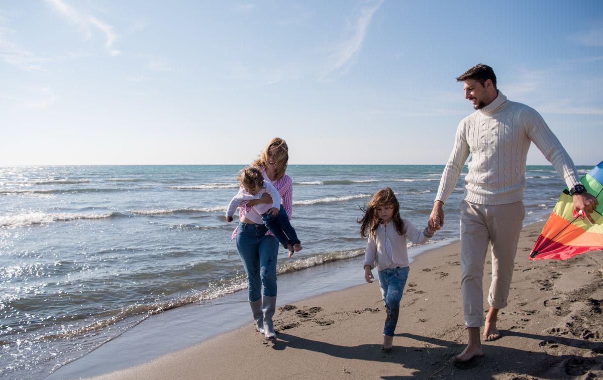 Familienurlaub im Herbst an der Ostsee