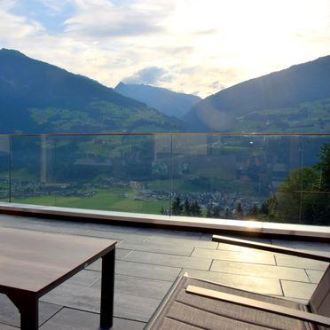 Sommer Terrasse, Alpinloft Goldsun in Kaltenbach im Zillertal, Tirol, Tirol, Österreich
