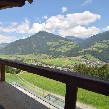 Sommer Balkon, Alpinloft Goldsun in Kaltenbach im Zillertal, Tirol, Tirol, Österreich