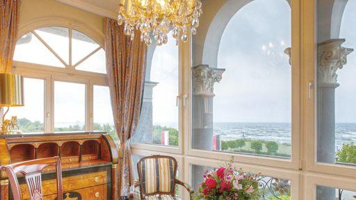 SEETELHOTEL Ahlbecker Hof - Suite mit Meerblick