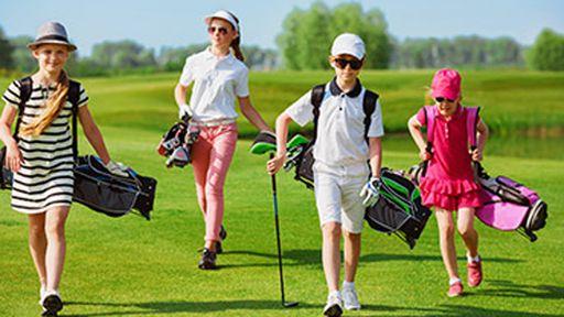 Für den Golfsport stehen Ihnen 10 Golfplätze sowie spezielle GOLF CAMPS für die Kids zur Verfügung.
