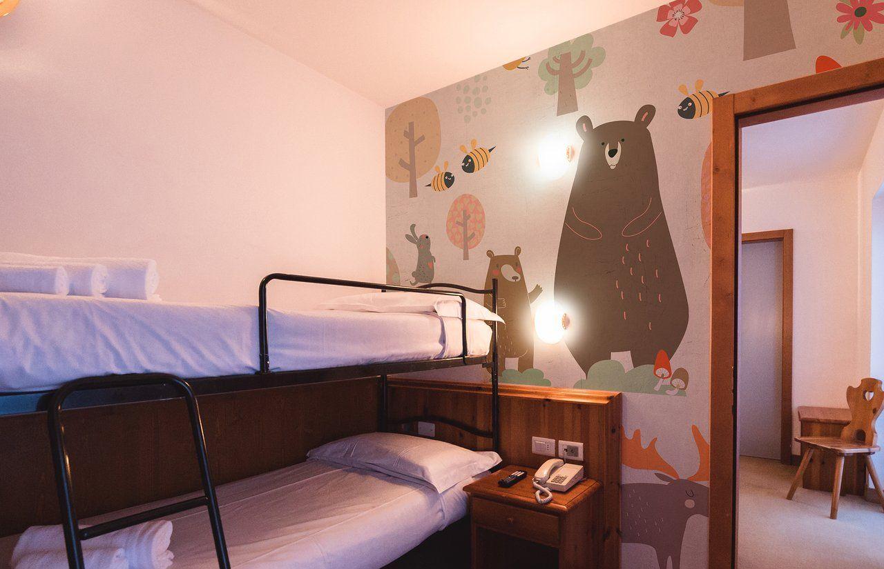 Kinderzimmer des fabilia Family Hotel Polsa