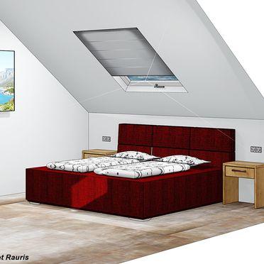 Visualisierungsbild - Schlafzimmer, Chalet Alteck in Rauris, , Salzburg, Österreich