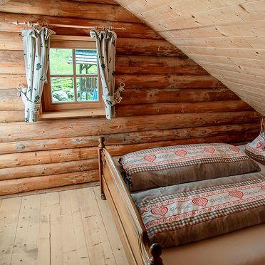 Schlafzimmer, Hüblerhütte, Bad St. Leonhard, Kärnten, Kärnten, Österreich