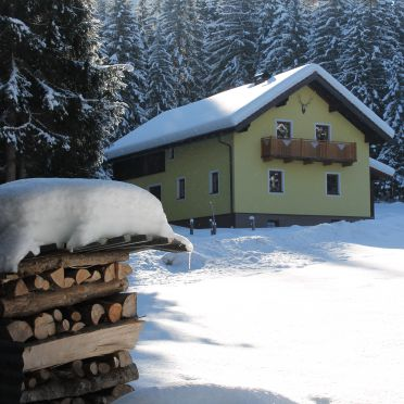 Winter, Schlaghäusl in Lungötz, Annaberg-Lungötz, Salzburg, Österreich