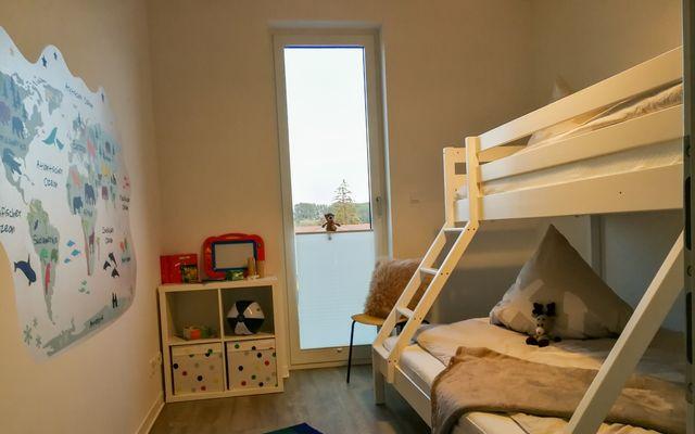 Kinderschlafzimmer mit 3 Schlafplätzen