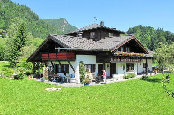 Außen Sommer 1 - Hauptbild, Hütte Jägerhiesle im Allgäu, Oberstdorf, Allgäu, Bayern, Deutschland