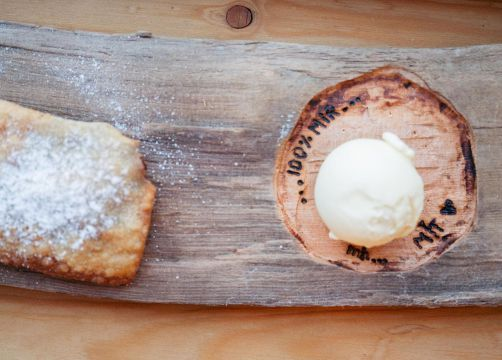 Biohotel Blaslahof: Kulinarik Nachtisch - Blasla Hof, Gsies, Südtirol, Trentino-Südtirol, Italien