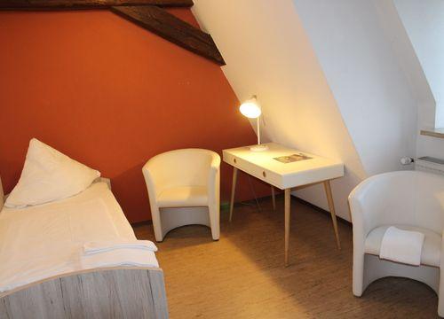 biohotel schloss kirchberg doppelzimmer gemeinschaftsbad (1/2) - Biohotel Schloss Kirchberg