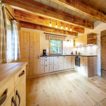Wohnküche, Wirths Hütte, Kremsbrücke, Kärnten, Österreich