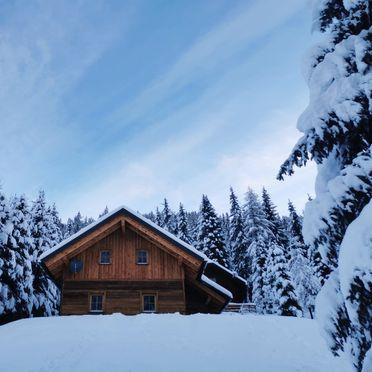 Winter, Wirths Hütte in Kremsbrücke, , Kärnten, Österreich