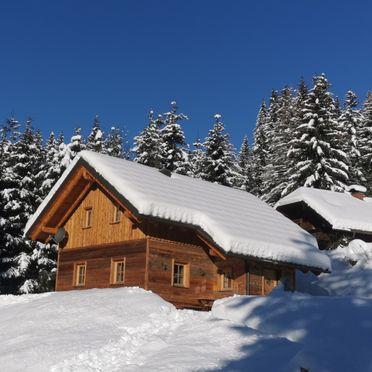 Winter, Wirths Hütte in Kremsbrücke, , Carinthia , Austria