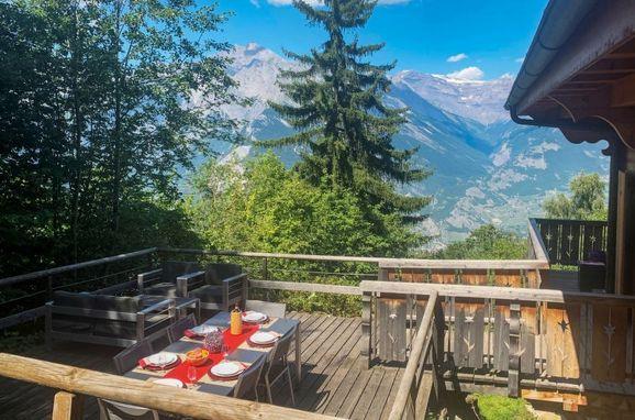 Außen Winter 35, Chalet Altamira, Nendaz, Wallis, Wallis, Schweiz