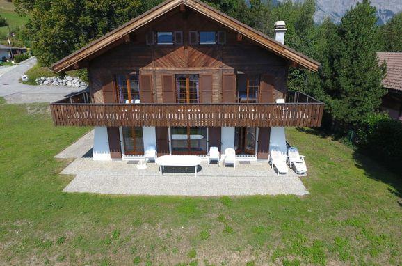 Außen Sommer 1 - Hauptbild, Chalet Arche, Ovronnaz, Wallis, Wallis, Schweiz