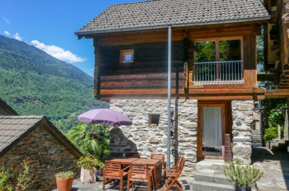 Außen Sommer 1 - Hauptbild, Rustico Casa Luna, Malvaglia, Tessin, Tessin, Schweiz