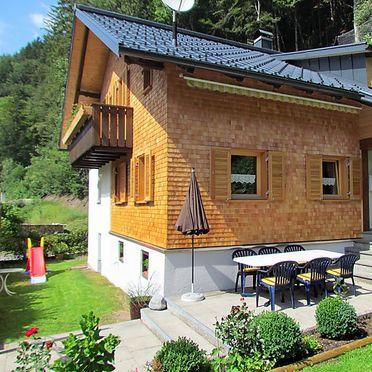 Außen Sommer 1 - Hauptbild, Chalet Josefine am Arlberg, Sankt Anton im Montafon, Montafon, Vorarlberg, Österreich