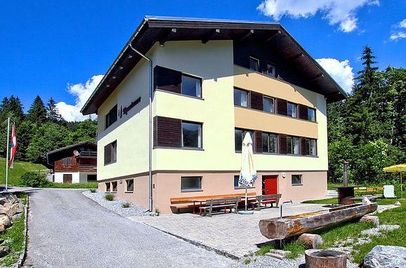 Outside Summer 1 - Main Image, Ferienhaus Runnimoos am Arlberg, Laterns, Vorarlberg, Vorarlberg, Austria