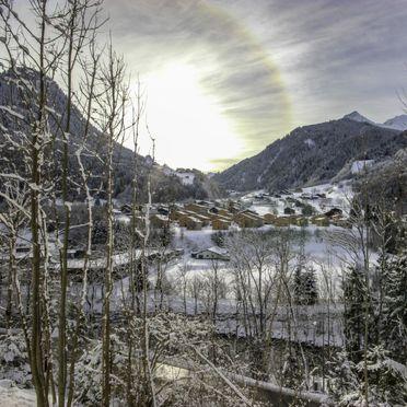 Außen Winter 21, Chalet Montafonblick, Sankt Gallenkirch, Montafon, Vorarlberg, Österreich