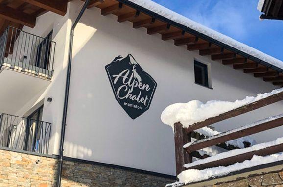 Außen Winter 20, Chalet Montafon in Gaschurn, Gaschurn, Montafon, Vorarlberg, Österreich
