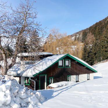 Außen Winter 28, Jagdhütte Biedenegg im Oberinntal, Fliess/Landeck/Tirol West, Oberinntal, Tirol, Österreich