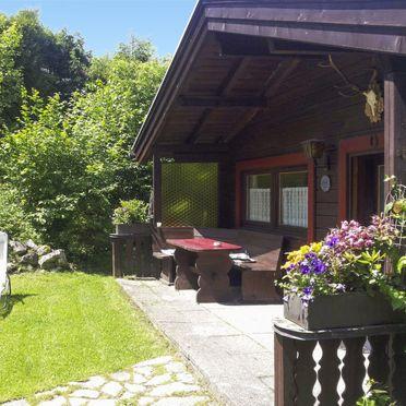 Innen Sommer 2, Ferienhütte Franke in Garmisch-Partenkirchen, Garmisch-Partenkirchen, Oberbayern, Bayern, Deutschland