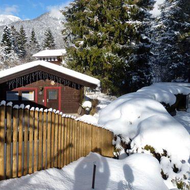 Innen Winter 11, Ferienhütte Franke in Garmisch-Partenkirchen, Garmisch-Partenkirchen, Oberbayern, Bayern, Deutschland