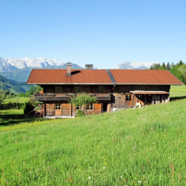 Außen Sommer 1 - Hauptbild, Ferienhütte Marianne in Oberbayern, Reit im Winkl, Oberbayern, Bayern, Deutschland