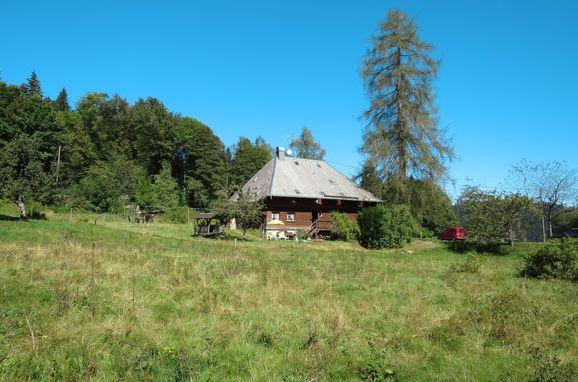 Außen Sommer 1 - Hauptbild, Schwarzwaldhütte Bistenhof, Hinterzarten, Schwarzwald, Baden-Württemberg, Deutschland