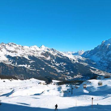Innen Winter 39, Familienchalet Ahornen, Grindelwald, Berner Oberland, Bern, Schweiz