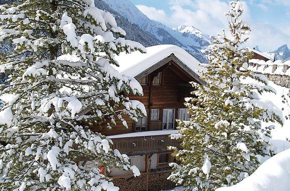 Außen Winter 27, Chalet Höfli, Jaun, Freiburg, Freiburg, Schweiz