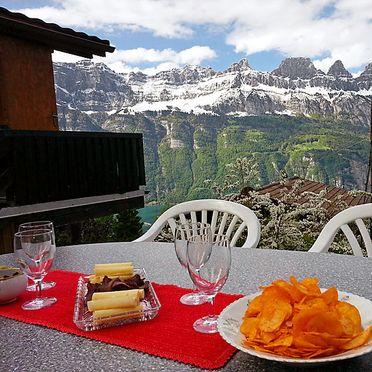 """Innen Sommer 3, Ferienchalet """"Im Gus"""", Oberterzen, Ostschweiz, St. Gallen, Schweiz"""