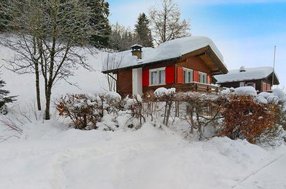 Außen Winter 24 - Hauptbild, Chalet Höchi, Ebnat-Kappel, Ostschweiz, St. Gallen, Schweiz